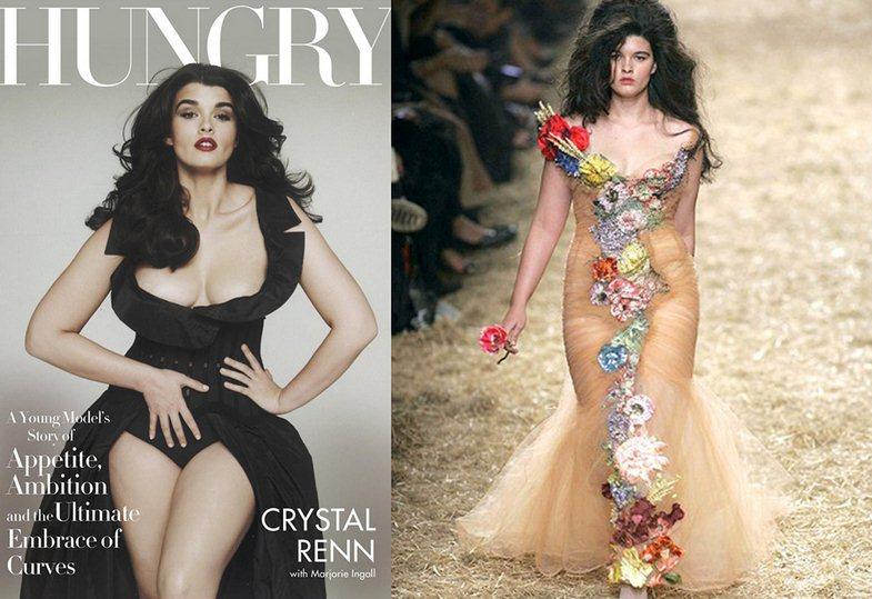 最美女胖子! 美117公斤女孩翻身成名模 中国搜索国际