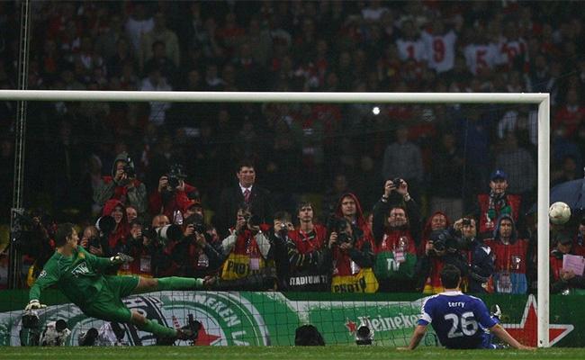 2007-08赛季欧冠决赛曼联1-1,点球大战总比分6-5胜切尔西图片