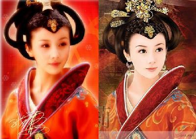 从画中走出来的古装美女-中国搜索书画图片